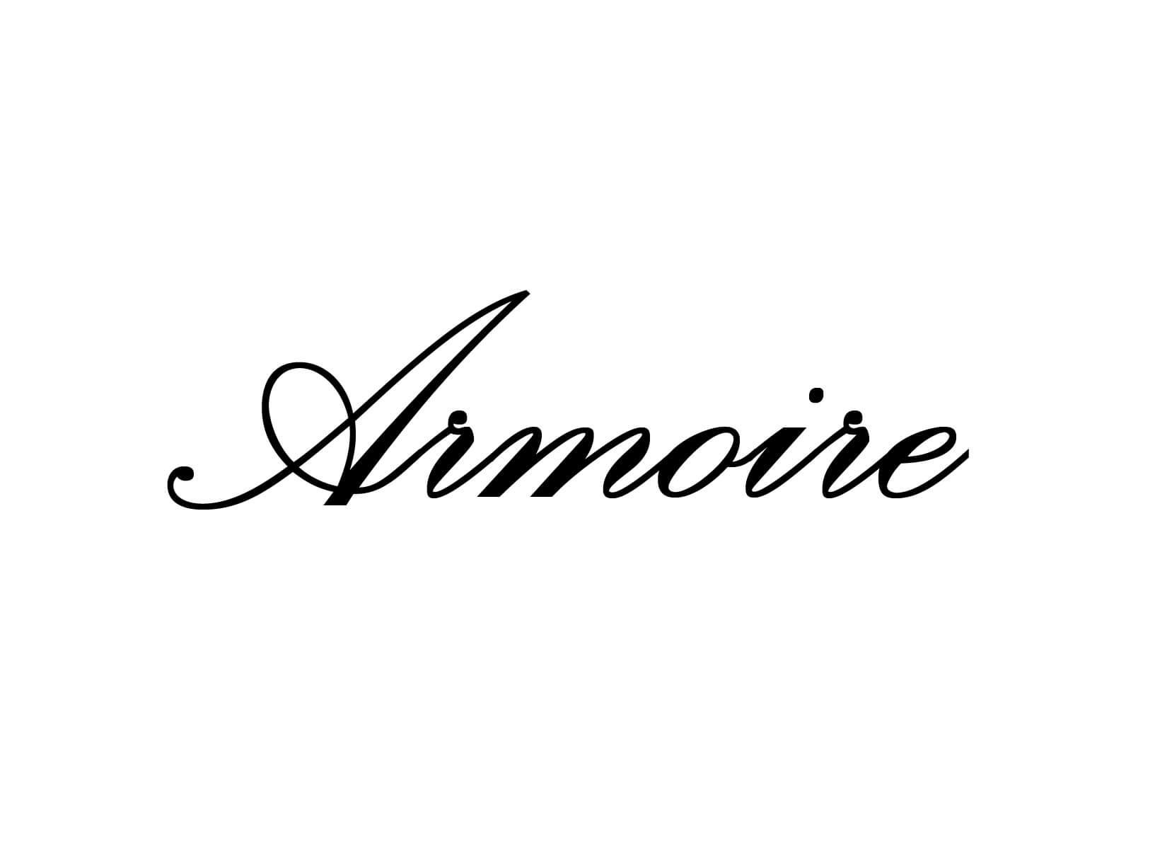 """Meubelsticker """"Amoire"""""""