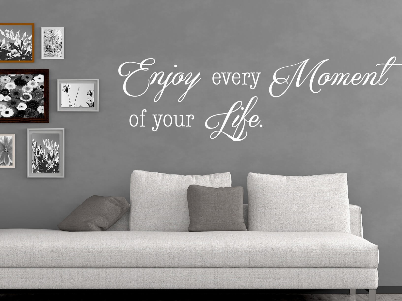 "Muursticker ""Enjoy every moment of your Life"""