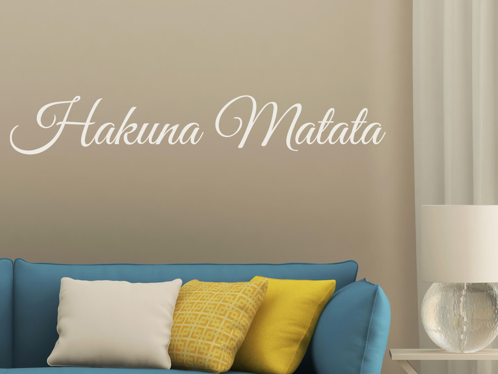 """Muursticker """"Hakuna Matata"""""""