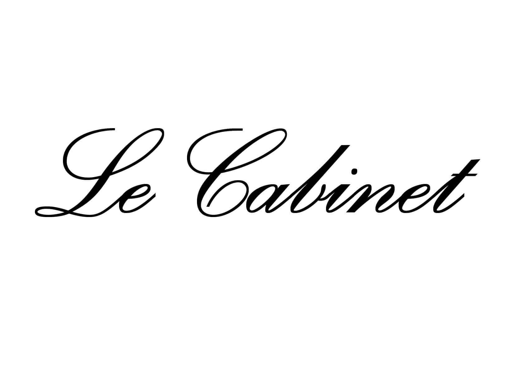 """Meubelsticker """"Le Cabinet"""""""