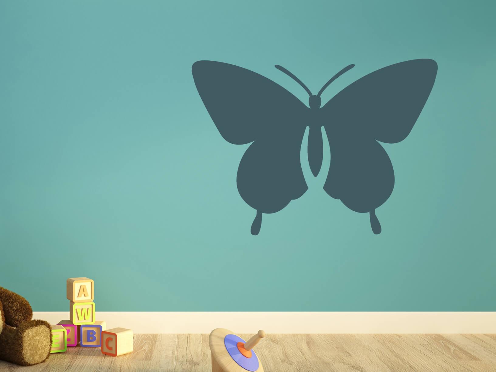 Muursticker vlinder
