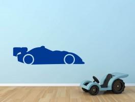 Muursticker formule-1 auto