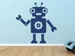 Muursticker robot 6