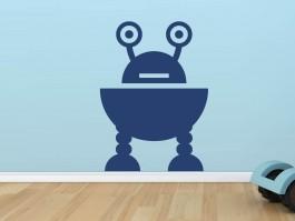 Muursticker robot 8