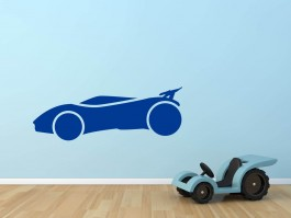 Muursticker sportauto 2