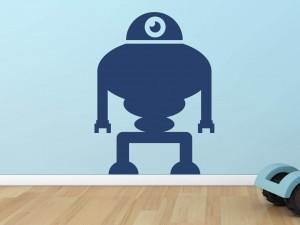 Muursticker robot 7